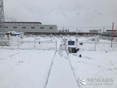 Meteorological services for July snow in Jiali County of ...